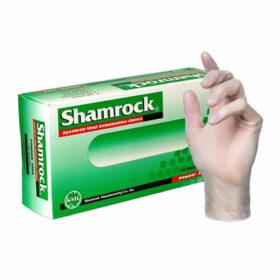 Shamrock Vinyl exam glove