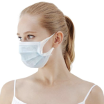 medical level 1 surgical face mask 3-ply