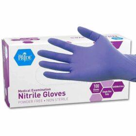 medpride nitrile exam gloves
