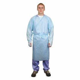 tidi isolation gown 8576