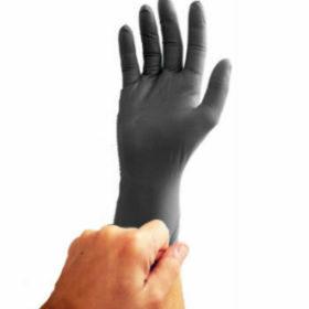 black nitrile glove 4102