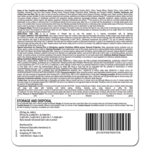 SaniCloth Bleach Wipes P54072