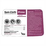 P25372 Sani-Cloth Prime label