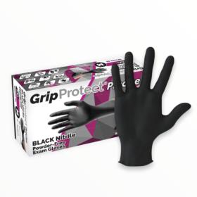GripProtect Black Nitrile Glove